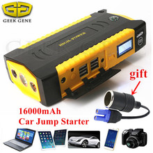 Car Jump Starter 600A 12V Car Charger For Car font b Battery b font Booster Portable