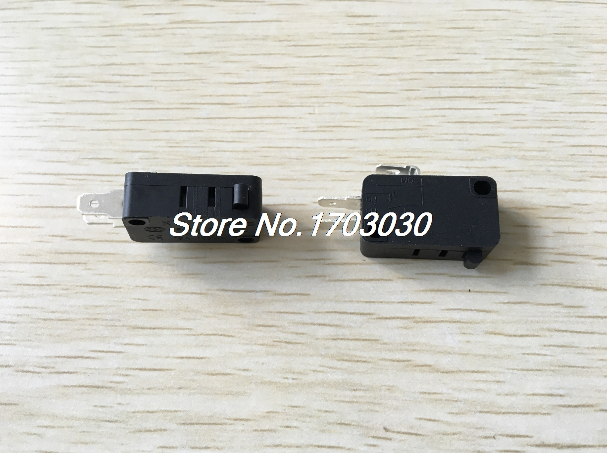 Switches 15pcs Kw7-0 Ac125v/250v 16a Spdt Momentary Push Button Limit Switch Microswitch