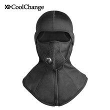 CoolChange Bike Mask Face Thermal Fleece Snowboard Shield Hat Cold Headwear  Winter Cycling Cap Ski Bicycle