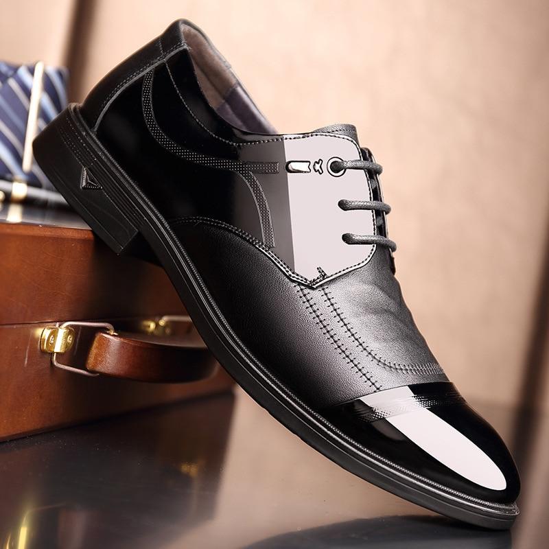 Dos 8017 strap Sapatos Negócios Antiderrapante Novos Genuíno De Style Couro 8018 Fundo Picture Macio Único Homens As Apontou Respirável Cinta Casuais a6qxAwH