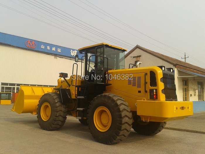 New Model Chinese Wheel Loader Sam855a (5t Capacity) Finely Processed