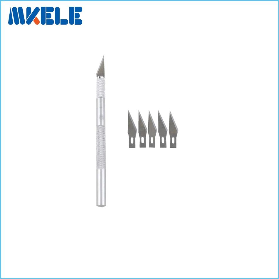 """5 geležtės medžio drožybos įrankiai, peilių peilis medžio popieriaus pjaustymo peiliukų peiliai skalpeliu, amatų skulptūrų graviravimo peilis """"pasidaryk pats"""" rankinis įrankis"""