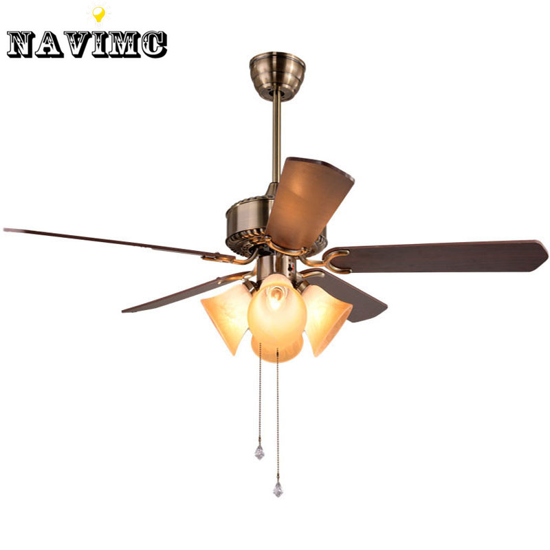 Creative ceiling fan with with light kits for restaurant hotel dining living living room Home decorations light kit