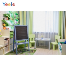 Yeele Photographic Backdrops Baby Studio Room Table Chair Curtain Kids Portrait Photography Backgrounds For the Photo