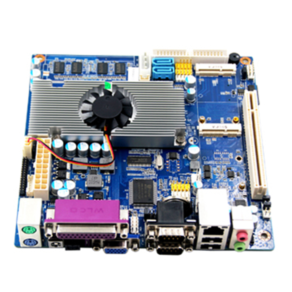 High Performance atom TOP525 Network Motherboard mini pc motherboard support win 7 XP system leonard  yates high performance options