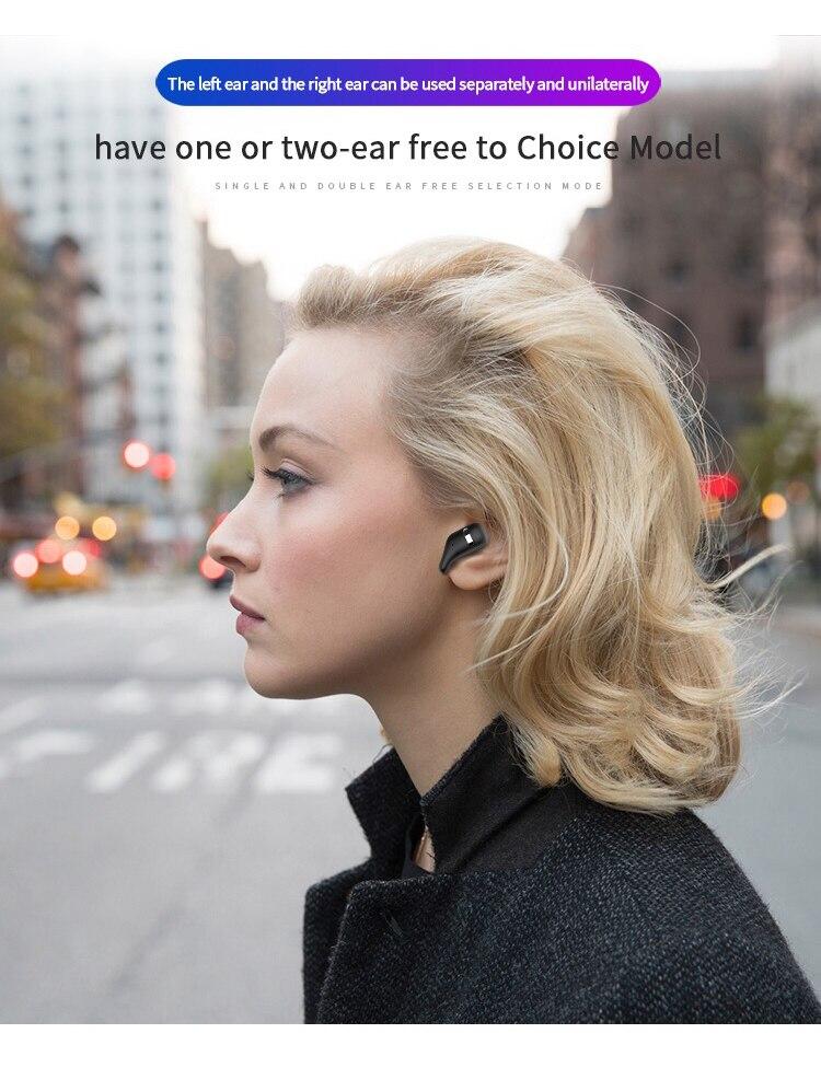 2019 New Wireless sports Earphone A2 Bluetooth 5.0 TWS  Auto Pairing Bluetooth Earphones Binaural HD call Hifi Wireless Earbuds (2)
