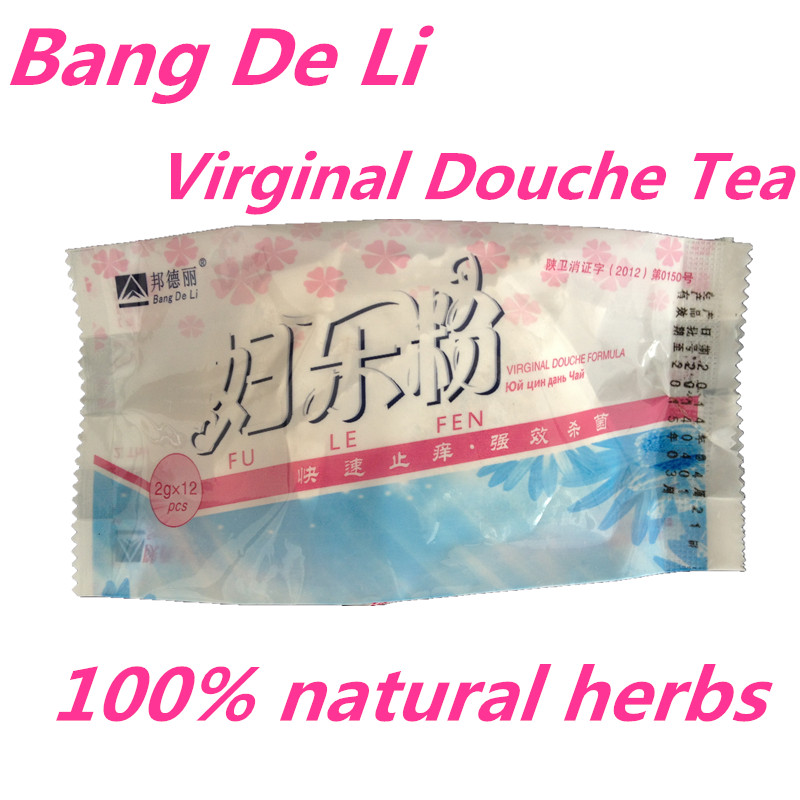 24pcs=2 Box Medicated Vaginal Douche Tea Vagina Infection Wash Vagina Feminine Hygiene Product Clean Vaginal Itching Natural shi mingke schmincke 25ml