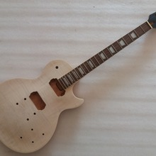Незавершенная гитара шеи и тела для LP замена 22 лада палисандр гриф