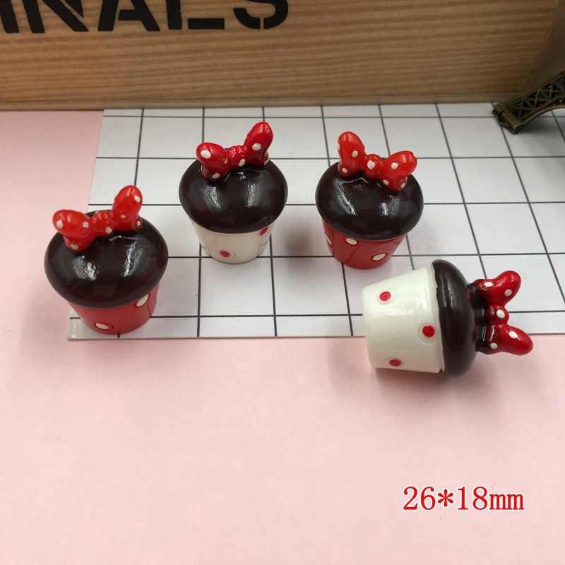 Бесплатная доставка! 5 шт./лот Смола Kawaii популярный новейший миниатюрные чашки для скрапбукинга, аксессуары для кукольного домика, Украшение DIY