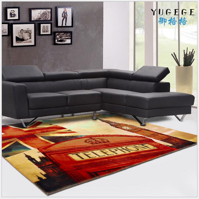 Large 3D Soft Creative Printing Crystal Carpet For Home Supplies Rug Anti-Skid Living Room Bedroom Kid Climb Delicate Mat