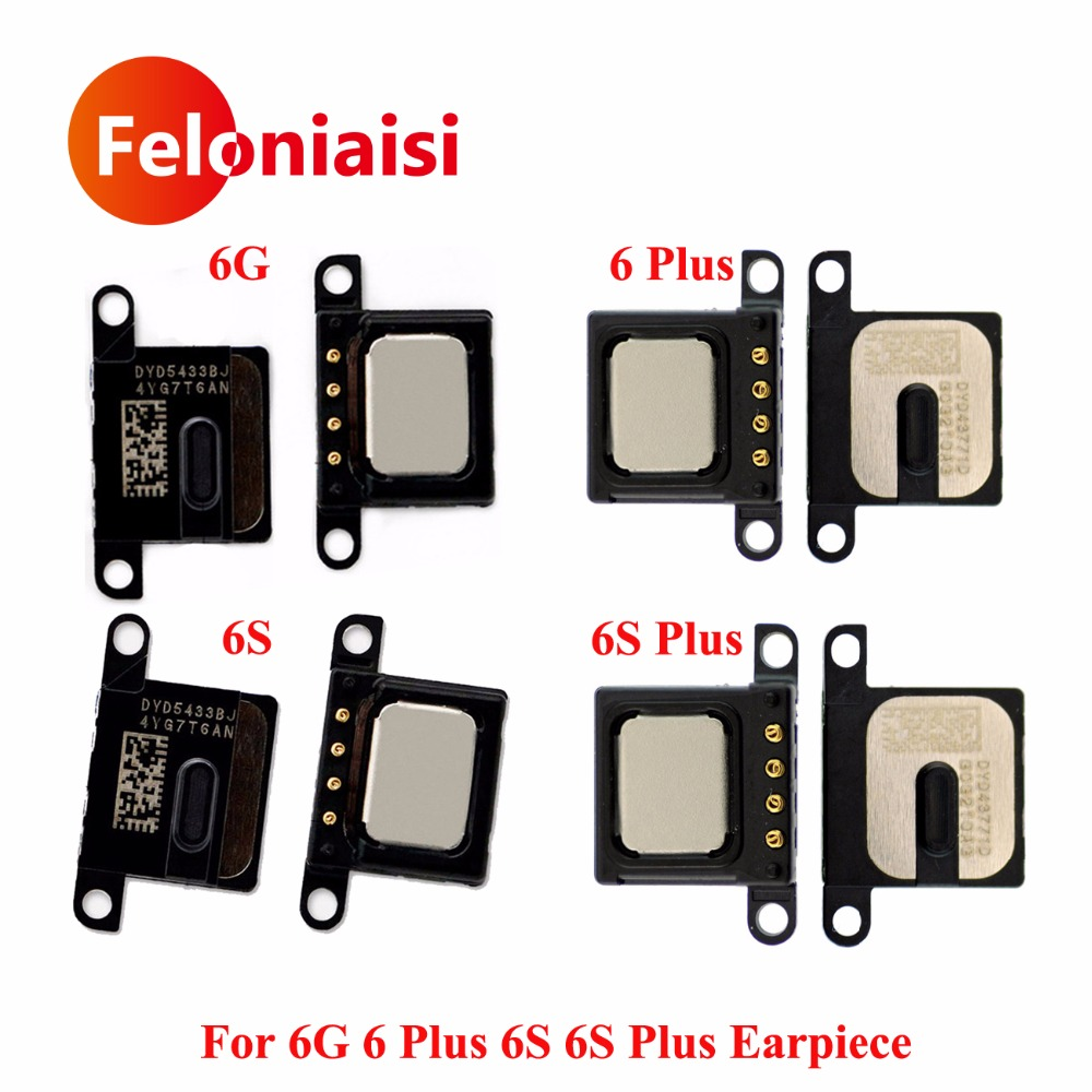 10pcs/lot High Quality For iPhone 6 Plus 6G 6S 6S Plus Earpiece Ear Speaker Sound Listening Receiver Flex Cable Replacement