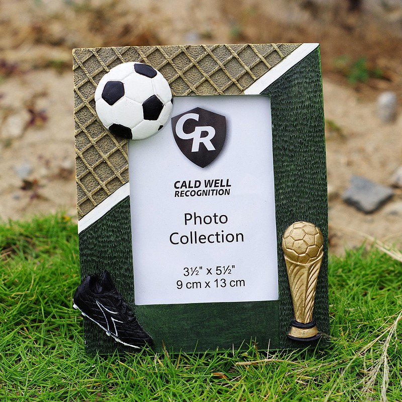 Football Soccer  Gift Photo Frame Football Soccer  Gift Hand Painting Creative 3R 5 Inch Word
