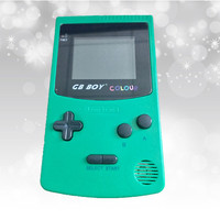 2017 GB Classic Boy Color Pocket Color Game Console 2 7 Game Player With Backlit 66