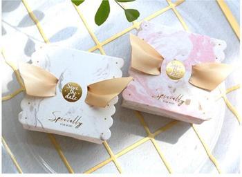Caja de caramelos Multicolor con forma de Ángel, Cajas de Regalo de papel, Cajas de Regalo de recuerdo para boda, bolsas de Caja de fiesta respetuosas con el medio ambiente, promoción kraft