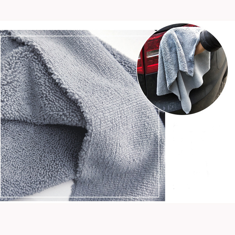 Image 4 - 40*40cm Edgeless Microfiber Towel Car Cleaning Car Wash Detailing Premium Super Absorbent Towel For Car Wash Drying Cloth 2019-in Sponges, Cloths & Brushes from Automobiles & Motorcycles