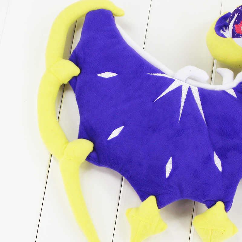 アニメ漫画太陽 & ムーン蝶 Lunala ぬいぐるみソフトぬいぐるみ人形 51 × 34 センチ