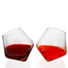 Хрустальный стакан для виски Ультра Прозрачный волчок Вино Графин быстро ePacket вино Бургундия виски пиво питьевой домашний бар вечерние 300 мл
