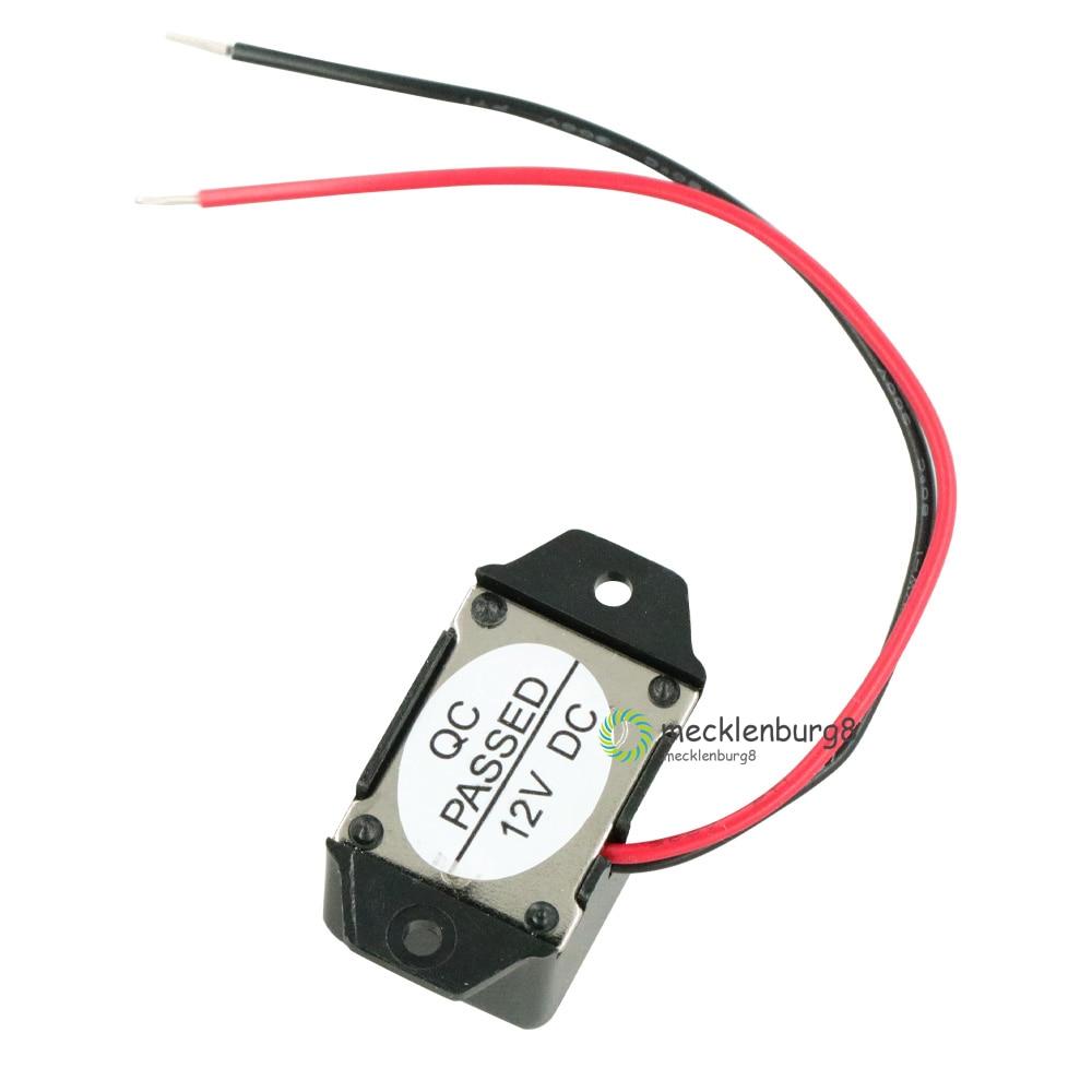 1PCS DC 12V 85dB Mini Electronic Alarm Buzzer Constant Tone NEW