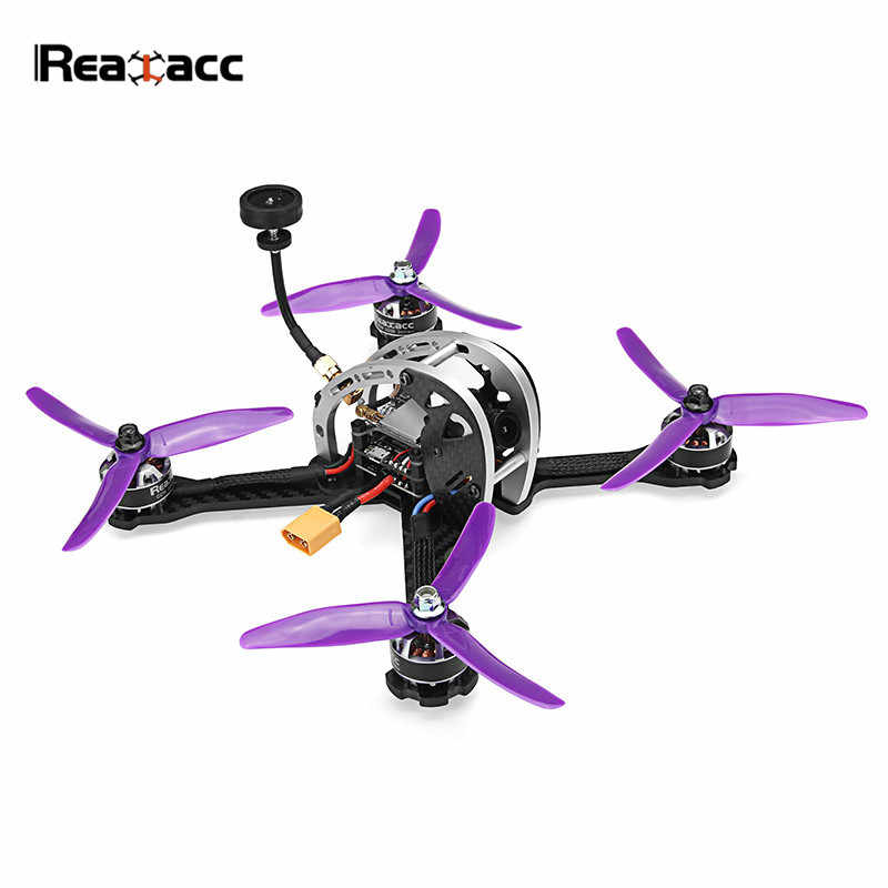 Realacc Real5 215 MM FPV Racing Drone PNP W/BETAFLIGHT F4 25/200/600 mW VTX 800TVL cámara RC Quadcopter del Eachine X220S X220