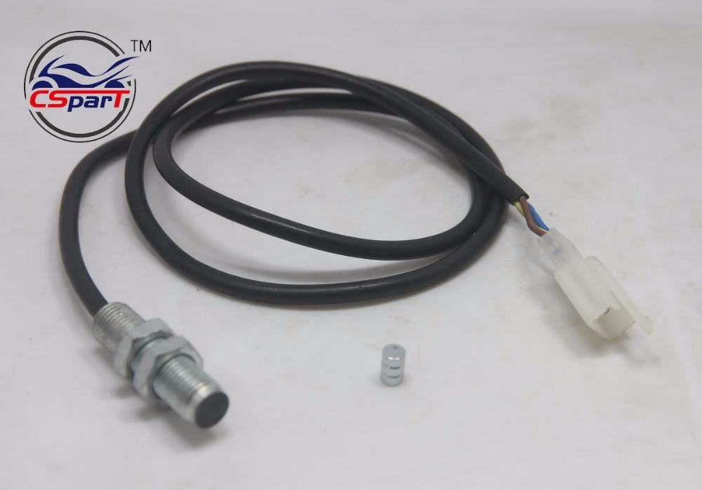 ATV Digital Odometer Sensor Cable For Motorcycle Digital Odometer Speedometer Tachometer