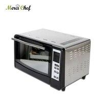 ITOP для пиццы Еда процессор 10L Ёмкость Электрический тост печь для пиццы светодио дный Дисплей орно Электрический интеллектуальные печь