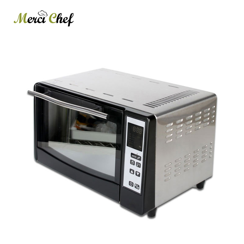 ITOP Pizza Oven Food Processor 10L Capacity Electric Toast Oven Pizza Oven LED Display horno electric Intelligent Oven цены