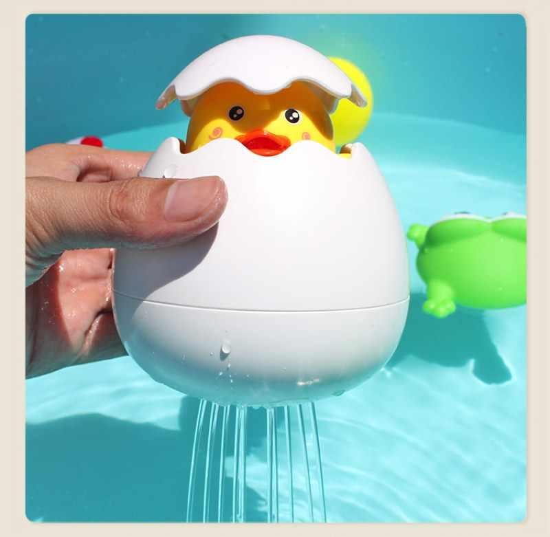 Brinquedos de banho bonito pato banho de bebê brinquedos de borracha patos flutuador de água spray para chuveiro de bebê animais bonitos banho de brinquedo para crianças