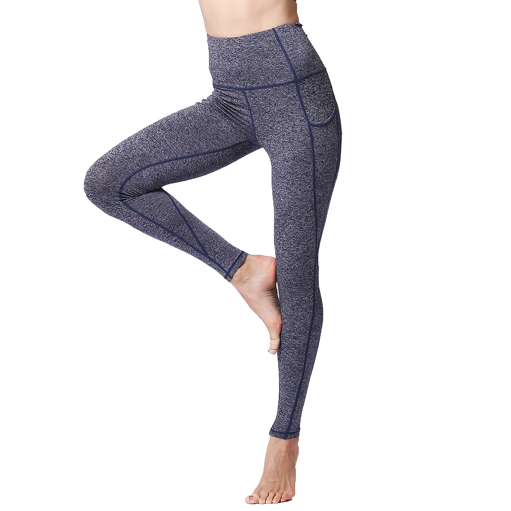 9e198f382e27d Fitness Leggings Women High Waist Push Up Quick Dry Stretch Polyamide  Workout Bodybuilding Yoga Gym Tights