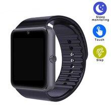 Лучшие Gt08 Смарт часы-телефон Bluetooth SmartWatch Android спортивные наручные часы Поддержка sim-tf Камера Подключение ISO Android SmartWatch