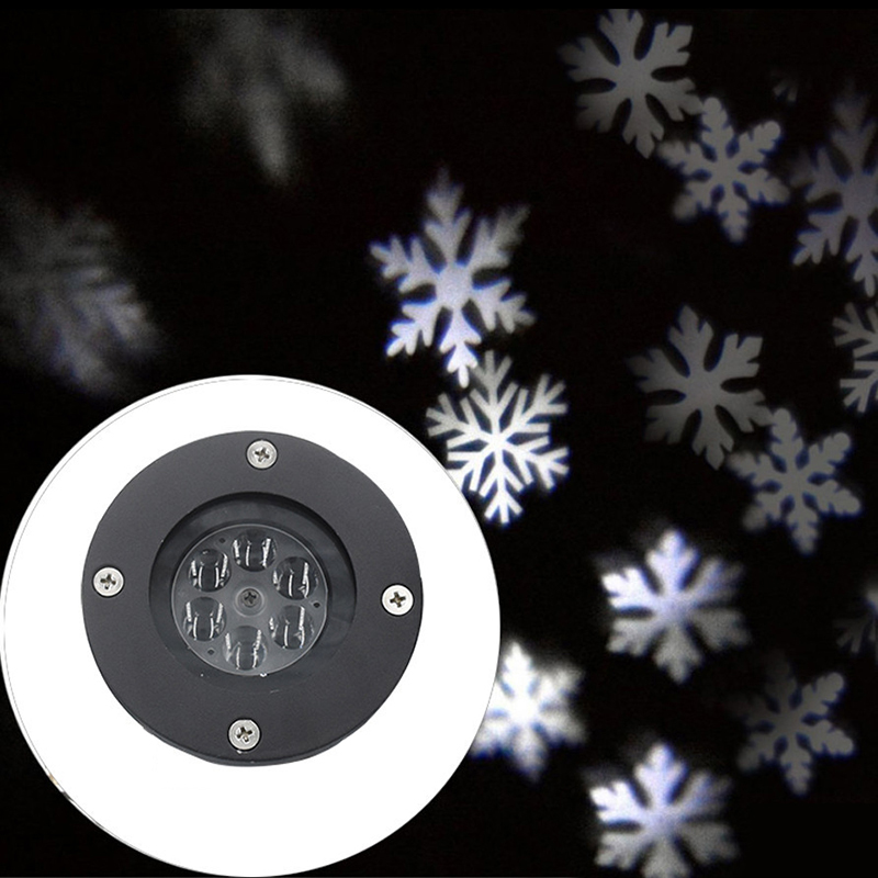 Image 2 - Litwod Z27 屋外スノーフレーク Led ステージスノーマシンライト防水ライトクリスマスホリデーホワイト & Rgb 色照明パーティー 220V 110Vsnow lightholiday lightssnowflake led -
