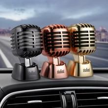 Car Ornament Fashion Microphones Stlye Dashboard Perfume Seat Air Freshener Auto