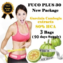 ( 3 Packs ) Pure Garcinia cambogia extracts weight loss effective FUCO Extra Burn Fat 80% HCA Diet supplement Slimming