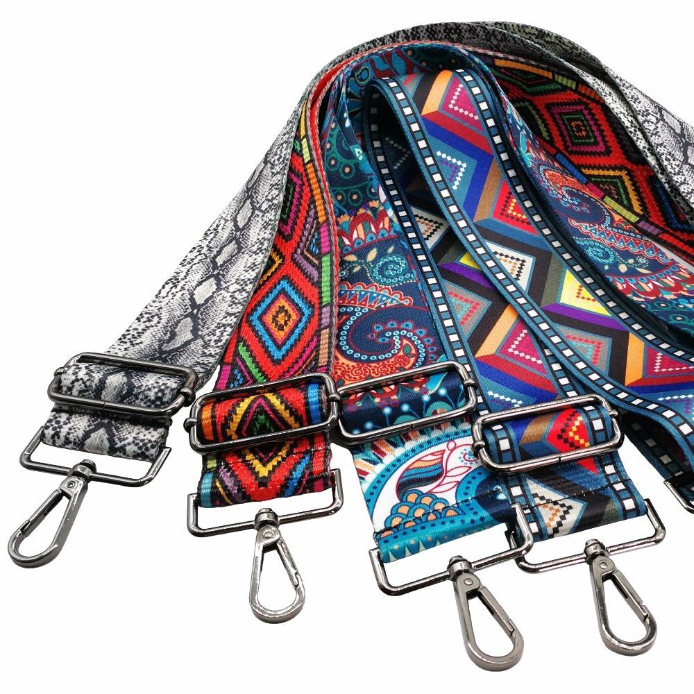 Fashion Bags Strap Nylon Women Handbag 120cm Adjustable Shoulder Strap Bag Accessories For Cross Body Messenger Bags Belt PartsFashion Bags Strap Nylon Women Handbag 120cm Adjustable Shoulder Strap Bag Accessories For Cross Body Messenger Bags Belt Parts
