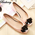 Plus Size 33-43 Women's Shoes Square Toe Ladies Shoes Square Buckle Slip on Flats For Women Ballerina Shoes sapato feminino