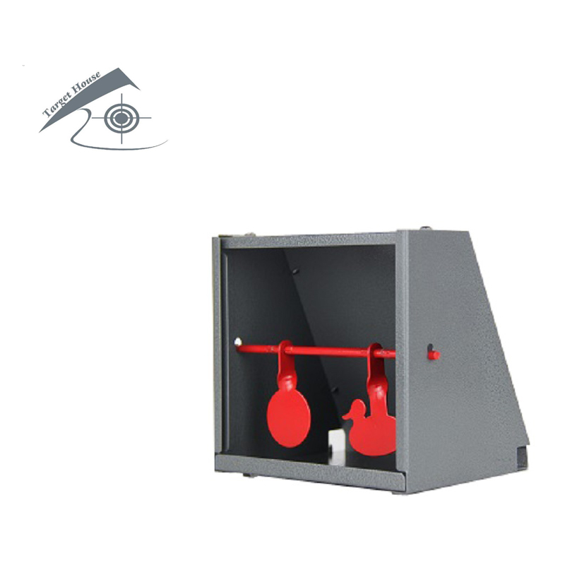 Pellet Trap And Airgun BB Gun Airsoft Shooting Steel Target With 20 Piece Of Paper Target And Inner Shooting Objects
