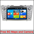 "8"" Capacitive Car DVD GPS Navigation for Toyota Camry 2006-2011 FCC/CE/ROHS Certified with BT Radio Support 1080P Video Play"
