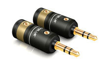 2 pcs ViaBlu High-End Technologies T6s PHONO PLUGS STEREO 3.5 MM