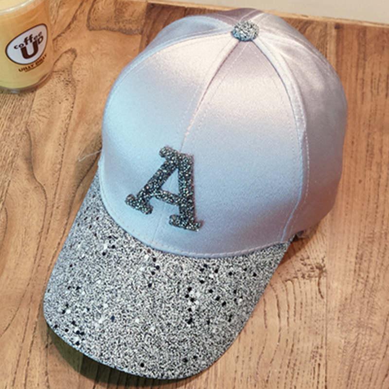 Baseball caps 2019 men's snapback cap dad hat rhinestone summer hat fashion hip hop cap women gorras para unisex beisbol gift 4