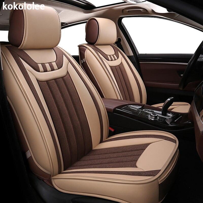 kokololee car seat cover for kia ceed carens carnival niro rio 3 4 cerato k3 optima picanto automobiles seat cover car styling