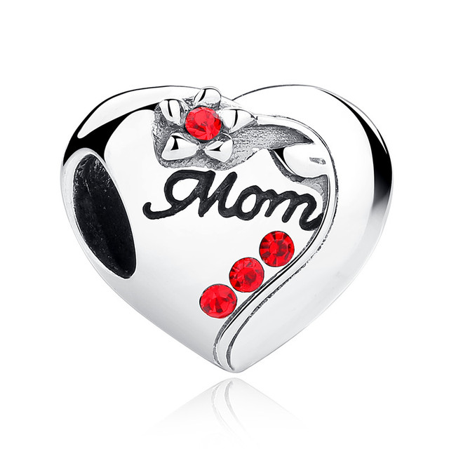 Pandora Style Family Charm Beads