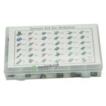 37 in 1 Kit Sensore per Arduino per I Principianti FAI DA TE Ventole Fiamma Interruttore di Temperatura di Colore del LED Buzzer Replay con Vendita Al Dettaglio box