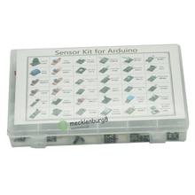 Czujników 37 w 1 zestaw do Arduino dla początkujących DIY fanów płomień przełącznik temperatury kolor LED Buzzer powtórka z Retail Box