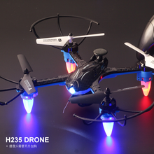 H235 Mini Drones 6-Axis Remote Control Helicopter Headless RC Quadcopter 6 Axis Gyro Micro RC Drones Professional brilink bh06 mini 2 4g radio control 4 ch quadcopter r c aircraft 3d tumbling w 6 axis gyro black