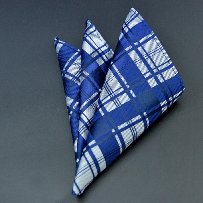 Fashion Men's Pocket Square Western Style Floral Handkerchief For Suit Pocket Wedding Square Paisley Hanky
