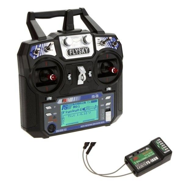 Flysky FS-i6 FS I6 2,4g 6CH AFHDS transmisor RC controlador con FS-iA6 FS-iA6B receptor para RC Avión Helicóptero Quadcopter