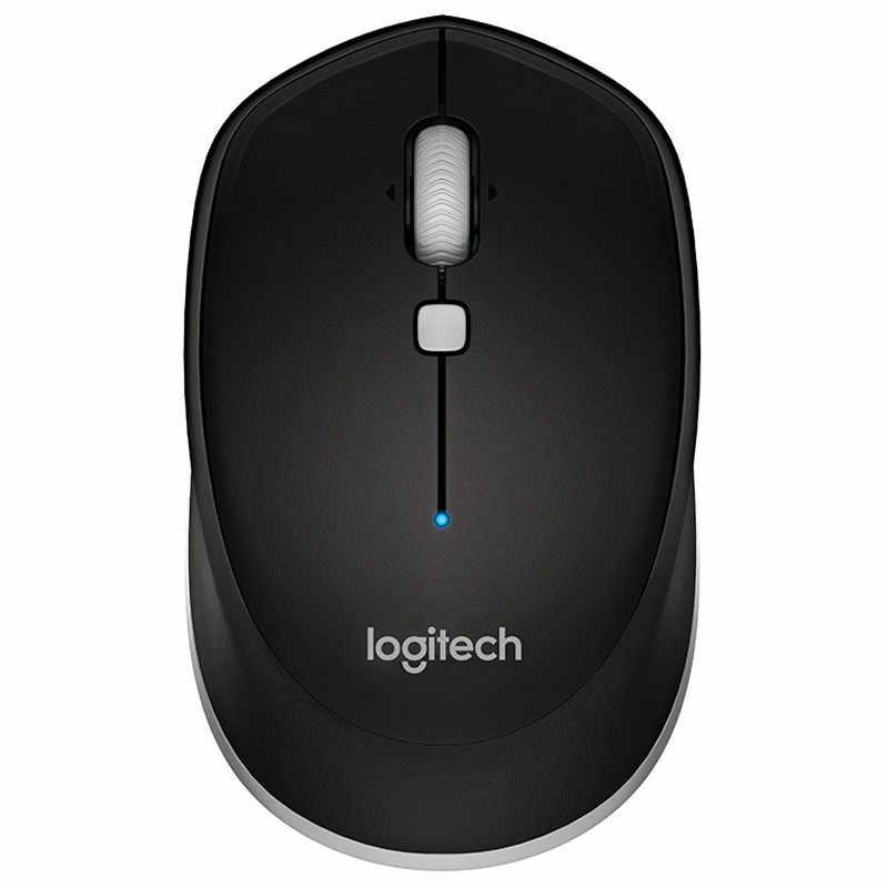 מקורי Logitech M337 אלחוטי Bluetooth משחקי עכבר גיימר מחשב הברכיים למעלה עכברים מקורי מעקב ארגונומי עכבר אופטי משרד