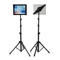 Universal Adjustable Tablet Tripod Floor Stand Tablet Holder Mount Tablet Support Bracket for 7 12 inch Tablets Pad For Ipad