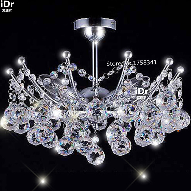 Empire Mini Crystal Chandelier Chrome Finish Christmas