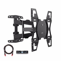 Suptek Articulating Full Motion Tv Wall Mount For 26 55 LED LCD Plasma TVs VESA Standard