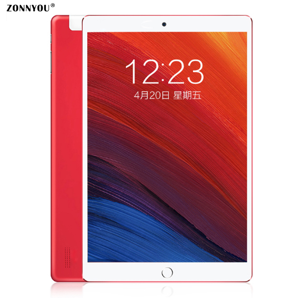 10.1 Inch Tablets Pc Android 8.0 3g Phone Call Octa Core Wifi Bluetooth Tablets Mobile 4gb\64gb Tactile Tablet Pc Official Fre Relieving Heat And Sunstroke